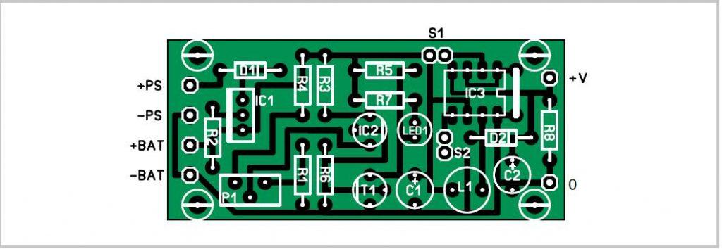 Solar-powered Uninterruptible PSU Schematic Circuit Diagram 2
