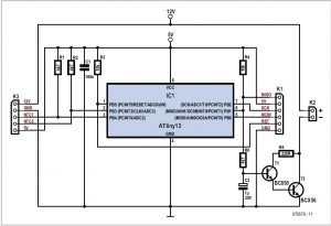 Fan Speed Controller Schematic Circuit Diagram