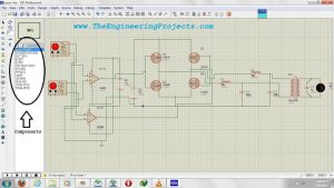 How To Use Oscilloscope in Proteus ISIS Schematic Circuit Diagram 2