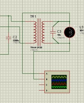 How To Use Oscilloscope in Proteus ISIS Schematic Circuit Diagram 4