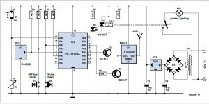 Outside Light Controller Schematic Circuit Diagram