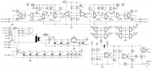 400W IR2110 CLASS D AMPLIFIER CIRCUIT SCHEMATICS 2