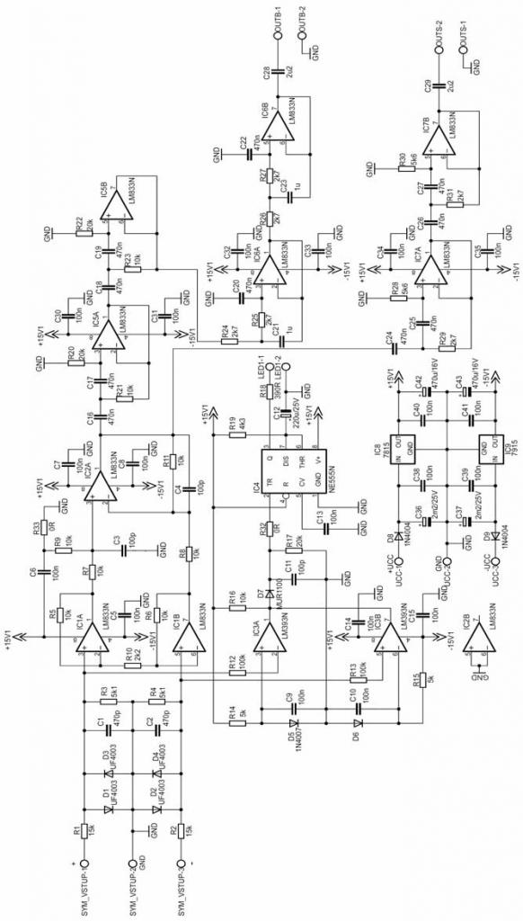 400w ir2110 class d amplifier circuit schematics 3