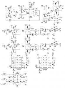 400W IR2110 CLASS D AMPLIFIER CIRCUIT SCHEMATICS 4