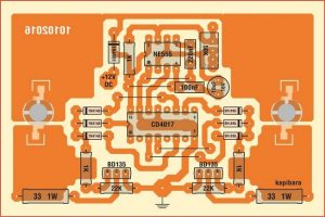 LEDLI POLICE FLASHER SCHEMATIC CIRCUIT DIAGRAM 4
