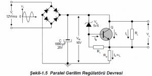 Photo of PARALLEL VOLTAGE REGULATOR SCHEMATIC CIRCUIT DIAGRAMS