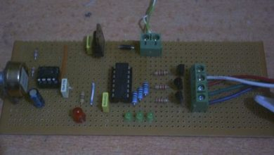 Photo of SIMPLE RGB LED LED EFFECT CIRCUIT Schematic Circuit Diagram
