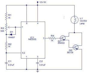 PWM-lamp-dimmer-using-NE555-Schematic-Circuit-Diagram-1