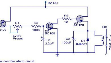 Photo of Low-Cost Fire Alarm Circuit