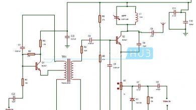 Photo of TV Transmitter Circuit