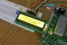Photo of Digital Clock Circuit using 8051 and DS12C887