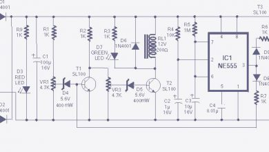 Photo of High & Low voltage cut-off with delay & alarm Circuit