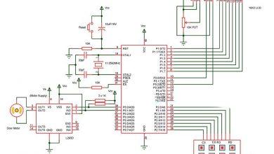 Photo of Password Based Door Lock System using 8051 Microcontroller