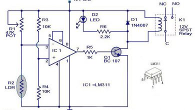 Photo of Light activated switch circuit